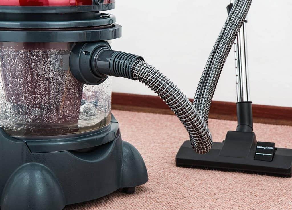 old, heavy vacuum