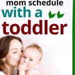 create the best sahm schedule with a toddler